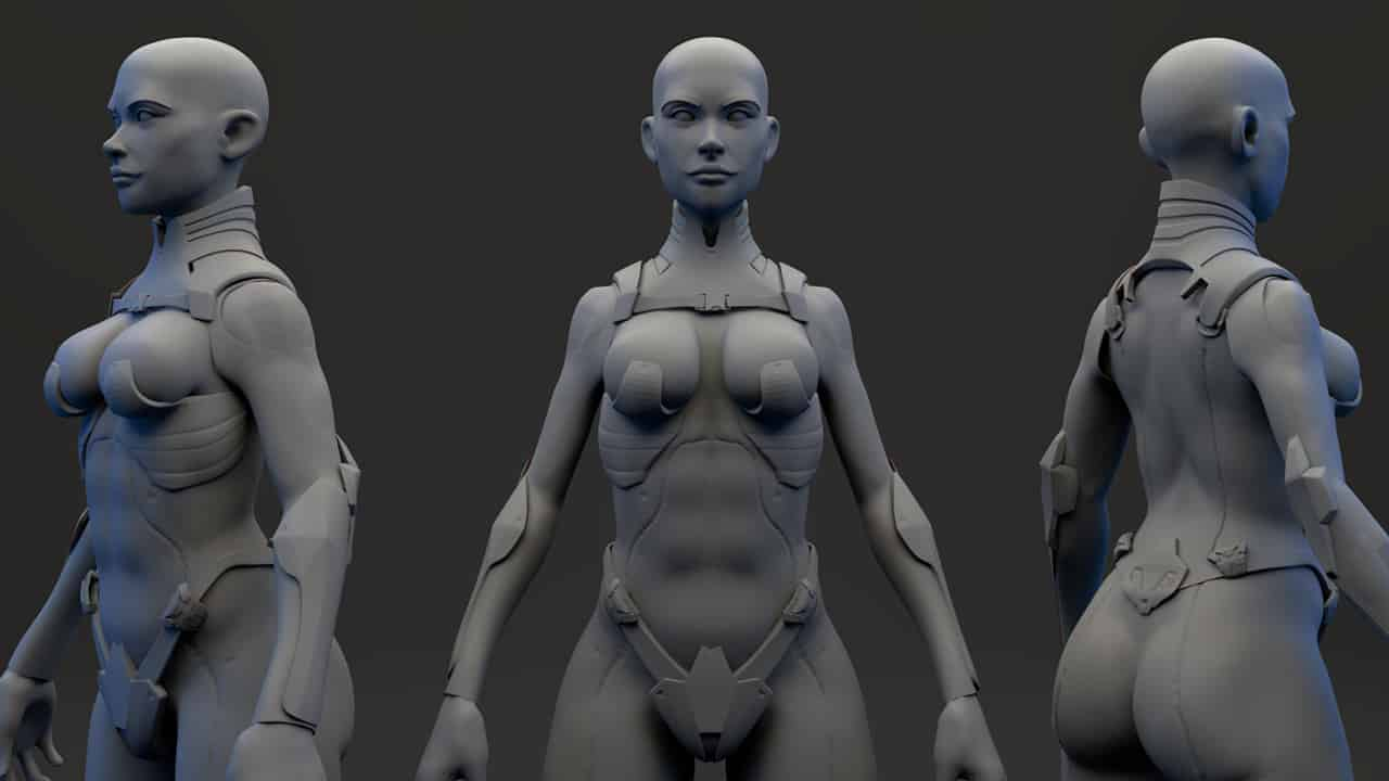 [Pluralsight] ZModeler Character Workflows in ZBrush and Maya