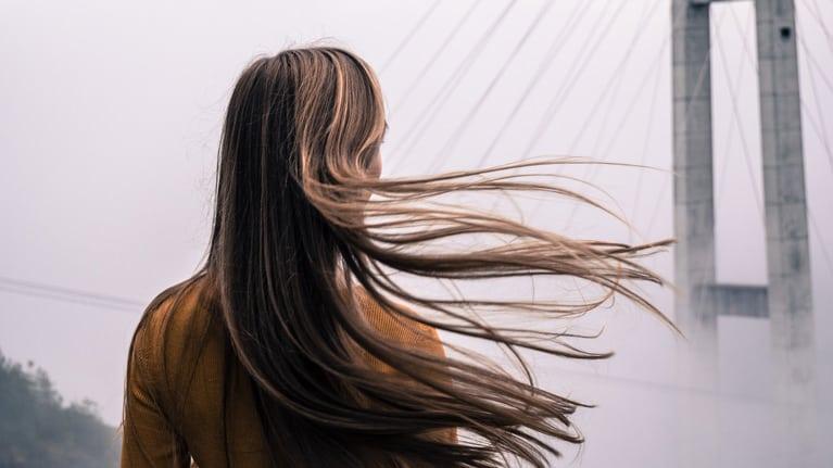 Photoshop Compositing Hair Example Original