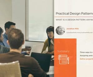 [Pluralsight] Practical Design Patterns in JavaScript