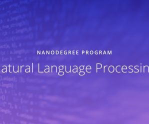 [Udacity] Natural Language Processing Nanodegree v1.0.0