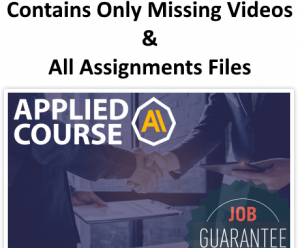 [AppliedAICourse] Applied Machine Learning Course [UPDATE ONLY]