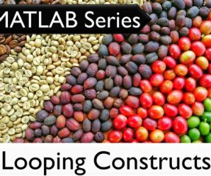 [O'REILLY] The MATLAB Series: Looping Constructs in MATLAB