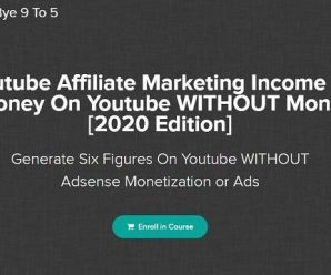 Jordan Mackey – [NEW] Youtube Affiliate Marketing Income Exploder [2020 Edition]