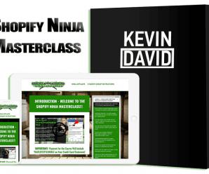 [Kevin David] Shopify/Drpshipping Ninja Masterclass