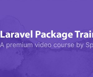 [SPATIE] Laravel Package Training – Learn to create Laravel packages