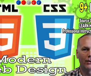 [SkillShare] Web Design – Modern HTML and CSS for creating Web Pages