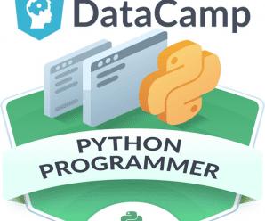 [DataCamp] Python Programmer  [Career  Track]