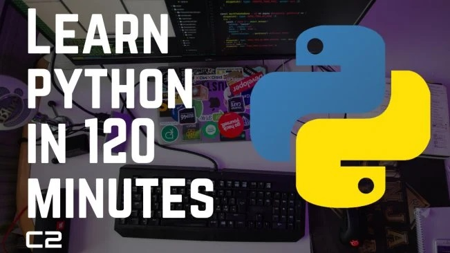 [SkillShare] Learn Python In 120 Minutes: Complete Python Programming