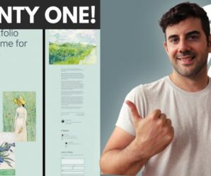 [SkillShare] Twenty Twenty One Theme – Create a Niche Website!