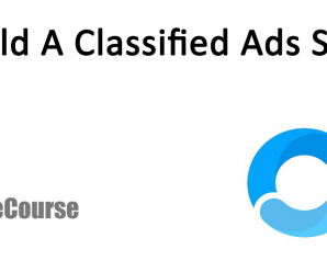[CodeCourse] Build A Classified Ads Site