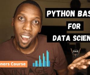 [SkillShare] Python Basics For Data Science