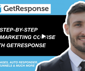 [SkillShare] Getting Started With Email Marketing For Online Business & E-Commerce Using Getresponse